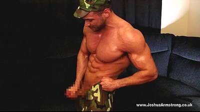 Military Muscle Cock Worship
