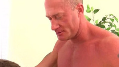 Eric West gets a bareback pounding from Jake Noriss raw cock