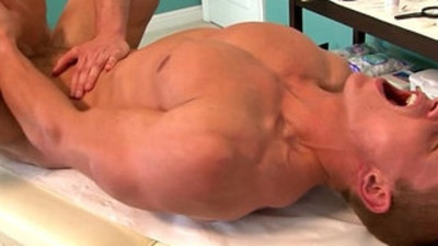Straight muscled jock tight butt screwed