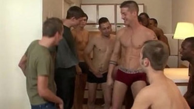 Nude men Bukkake with Braces