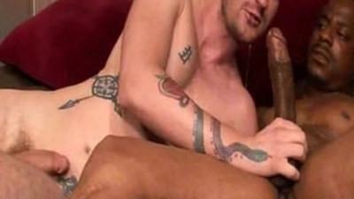 Big dick interracial hardcore blowjob
