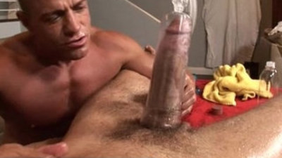 Gay straight massage seduction