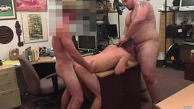 Food sex movie gay Guy finishes up with assfuck orgy threesome
