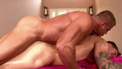 Massagecocks Oily Anal Act