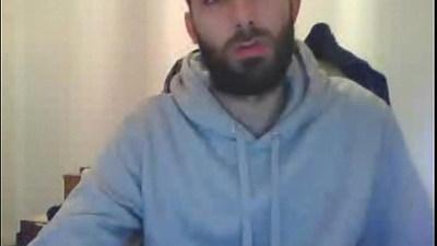 Amateur male webcam sex show