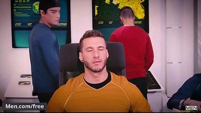 Jordan Boss, Micah Brandt Star Trek A Gay Xxx Parody Super Gay Hero Trailer preview