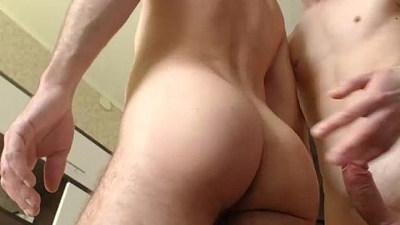 Russian couple make hard sex