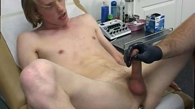 Hot new gay sexy boy and boy gay sex I lubed up my patients caboose